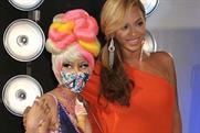 Beyonce and Nicki Minaj: at the MTV awards on Sunday night