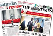 The new Saturday Times