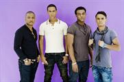 JLS: appearing on Global Radio's Jingle Bell Ball, sponsored by Microsoft