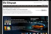 Telegraph: launches BMW content deal