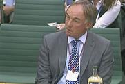 Tom Crone: gave evidence to the Culture, Media and Sport Select Committee