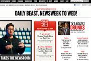 Daily Beast: to merge with Newsweek