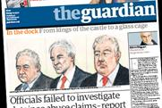 The Guardian: ad volumes declined in the 12 months ending January 2010