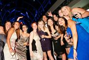 Here come the girls: at the IAA Summer Ball