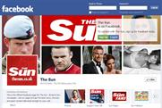 The Sun: records one million likes on Facebook