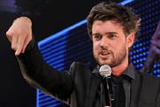 Jack Whitehall: hosts the Media Week Awards