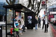 Beck's: digital campaign goes live on Shoreditch bus stops