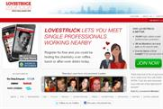 Lovestruck.com: targeting Londoners with mobile ads