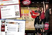 Dr Pepper and its associated sites: recently came under fire for a Twitter campaign
