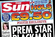 The Sun: cover price increases by 5p
