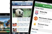 Guardian: smartphone app will be backed by iPad edition
