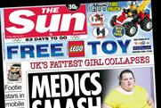 The Sun: to increase print run during the 2012 Euros and Olympic Games