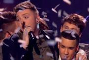 'The X Factor' winner James Arthur (l) and runner-up Jahmene Douglas