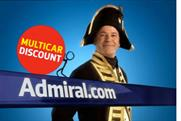 Admiral: media business handed to MPG