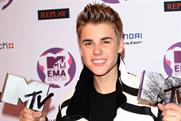 Justin Bieber: wins Best Pop and Best Male at the MTV Europe Music Awards in Belfast