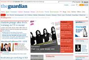 Guardian.co.uk: topped three million daily average browsers last month