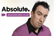 Absolute Radio branding with DJ Christian O'Connell