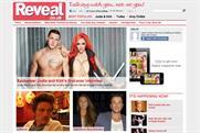 Reveal: unveils website to accompany celebrity print magazine