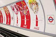 CBS Outdoor: Coca-Cola media on the London Underground