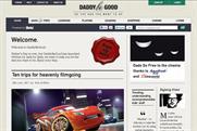 Beta's latest foray into online publishing DaddyBeGood