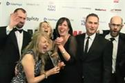 Carat: the team celebrates their Agency of the Year win