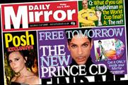 Daily Mirror: Prince gives away CD