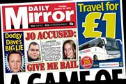 The Daily Mirror: Coach travel for £1
