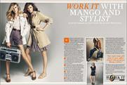 Mango: kicks off 'work it' campaign in Stylist