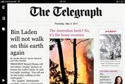 The Telegraph: new iPad app free to print subscribers only