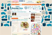 Tesco: Everyday Value range is promoted on the Goodtoknow recipes channel