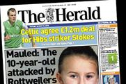 The Herald: 39% year-on-year slump in readership