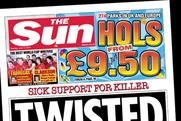 The Sun: Hols from £9.50