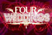 Four Weddings: showing on Sky Living