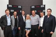 Ellie Goulding: surrounded by Mindshare and Vevo types