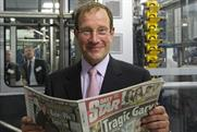 Richard Desmond: launches £100m print plant in Luton.