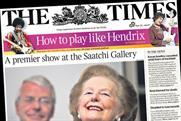 The Times: circulation falls below 500,000