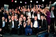 ITV winning at the Media Week Awards 2013