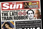The Sun: parent News UK posts £100m losses for the red-top and sister brand The Times
