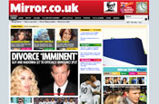 Daily Mirror: new mobile phone service offers news and features from the newspaper's website