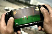 Sony PSP: live Arsenal footage available