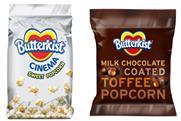 Butterkist: unveils new flavours