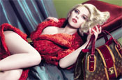 Louis Vuitton: ads feature Scarlett Johansson