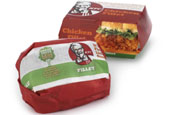 KFC: redesigned environmentally-friendly packaging