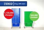 Tesco: Asda comparison ad rapped by ASA