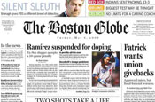 The Boston Globe: staff members prepare to vote