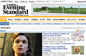Evening Standard: website receives content from Press Association