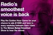 Smooth Radio: digital campaign focuses on Simon Bates' Golden Hour slot