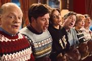 BBC TV: David Jason leads the team in Christmas ad singalong
