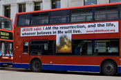 Jesus Said: London bus ad campaign