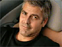 Clooney: has advertised Fiat and Martini